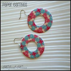Image result for layered paper jewelry