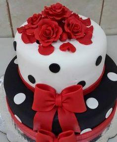 fotos de pasteles de cumpleaños para mujeres  bellos