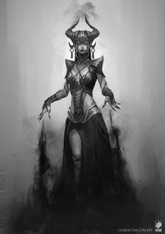 Shauskha, the Witch of Darkness …