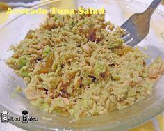 Avocado Tuna salad.  Yum!