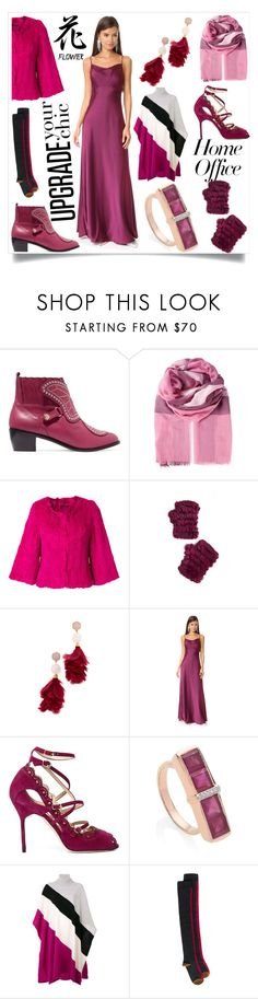 """Burst of colours"" by emmamegan-5678 ❤ liked on Polyvore featuring Sophia Webster, Burberry, Yves Salomon, Jocelyn, Tory Burch, Diane Von Furstenberg, Marchesa, Monica Vinader, Emilio Pucci and Marni"