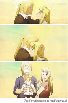 Ed and Winry Winry And Edward, Ed And Winry, Manga Anime, Anime Art, Death Note, Tokyo Ghoul, 鋼の錬金術師 Fullmetal Alchemist, Alphonse Elric, Roy Mustang