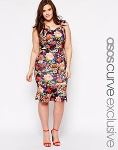 I can't wait to pair each piece up with a sober item for an everydy look and keep the co ordinate look for an outing <3 - ASOS CURVE Jewel Rose Co Ord