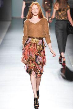 Etro Fall 2009 Ready-to-Wear Fashion Show - Vlada Roslyakova