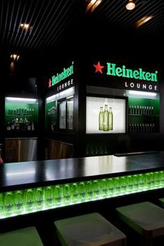 Image: Heineken Lounge, Newark International Airport