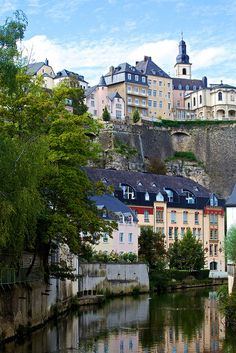 Where I live ;)    Luxembourg City, Luxembourg