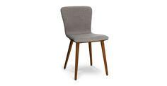 Sede Thunder Gray Walnut Dining Chair