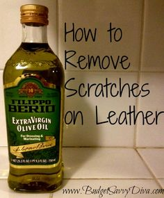 How to Remove Scratches from Leather - All Natural & Good