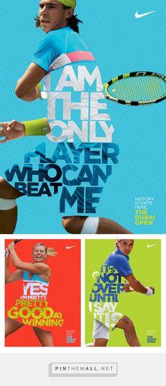 Nike Tennis posters: The Dubai Open