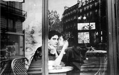 paris couple by frank paulin | via: a feminine tomboy