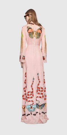 Shop the Gucci Official Website. Browse the latest collections, explore the campaigns and discover our online assortment of clothing and accessories. Whimsical Fashion, Unique Fashion, Luxury Fashion, Fashion Design, Fashion Week, High Fashion, Womens Fashion, Mode Unique, Stylish Outfits
