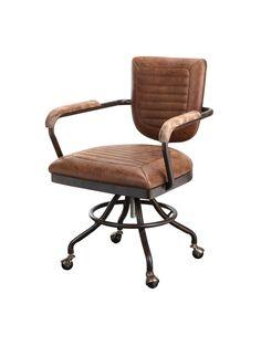 Arlo Desk Chair, Brown