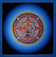 Thangka Kalachakra Cosmos Mandala . Kalachakra Cosmos Mandala Thangka. Buddhistische Thangkas, Statuen und Mandalas. Marvelous buddhist Statues, Mandala and Thangka from Snow Lion