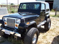 Jeep Wrangler YJ technical details, history, photos on Better Parts LTD