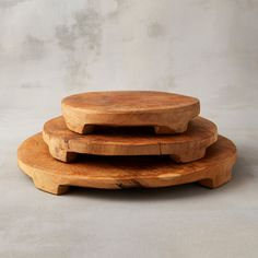 Hand-carved from natural teak, this footed board elevates cheese, snacks, sweets, and more.- Teak wood, food safe wax finish- Hand wash- Food safe- Im