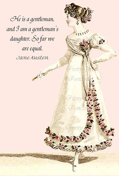 Jane Austen Quotes - Pride and Prejudice $1.95, via Etsy.