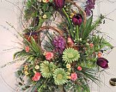Brand NEW wreath just listed on Etsy!  Absolutely scrumptious!  $189.97