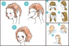 Toronto, Calgary, Edmonton, Montreal, Vancouver, Ottawa, Winnipeg, ON: Easy Tricks  3-Minute Hairstyles Every Girl Should Know