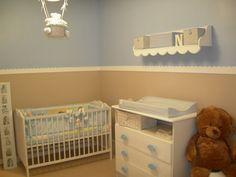 Resultado de imagen para dormitorio varones beige y azul