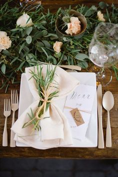 Rustic and elegant wedding reception ideas
