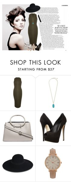 """""""Work it"""" by tiffanytma ❤ liked on Polyvore featuring Angelo, River Island, Kendra Scott, Dorothy Perkins, Giuseppe Zanotti, Maison Michel, FOSSIL and Michael Kors"""