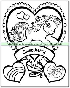 How Cute Is This My Little Pony Coloring Page Repin And Share The Fun