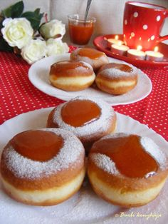 Hungarian Desserts, Hungarian Recipes, Bread Recipes, Cake Recipes, Sweet Pastries, Challah, Doughnut, Donuts, Cheesecake