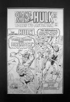 Original art to Tales to Astonish #67 by Kirby