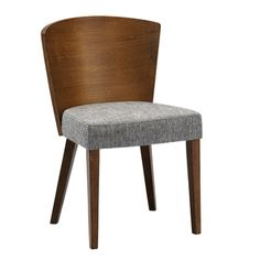 @Overstock.com - Baxton Studio Sparrow Brown Wood Modern Dining Chairs (Set of 2) - A minimalist dining chair effortlessly dresses up a dining space. Our Sparrow Modern Dining Chair is made in Malaysia with a rubberwood frame, walnut finish, and a foam cushion with matching brown fabric.   http://www.overstock.com/Home-Garden/Baxton-Studio-Sparrow-Brown-Wood-Modern-Dining-Chairs-Set-of-2/8458975/product.html?CID=214117 $249.99