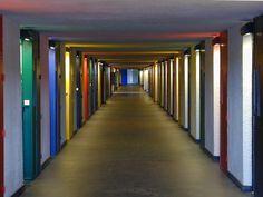 Unite d'Habitation. Marseilles, France. 1946 -1952. Le Corbusier