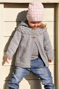 Cable Yoke Baby Jacket - still my favorite!