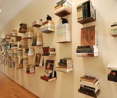 Great way to display your book collection!