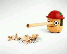 Pinocchio pencil sharpener!