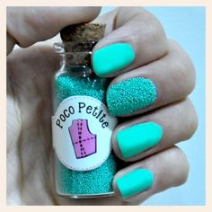 Poco Petite - Havyar Manikür #açık #yeşil #tırnak #oje