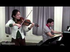 Violin Intonation: Christian Tetzlaff Workshop Coaching - YouTube