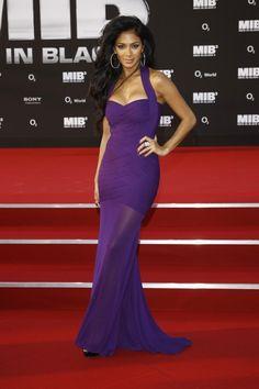 Nicole Scherzinger. I love her in this dress