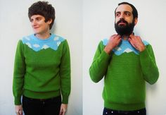 I'm strangely attracted to this...  Sweaters by Sirena Con Jersey