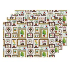 Lamona Cloth Placemats featuring The Garden Lover Gallery by floramoon_designs…