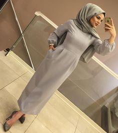 Image may contain: 1 person, indoor Hijab Prom Dress, Hijab Style Dress, Muslim Dress, Hijab Chic, Hijab Outfit, Modern Hijab Fashion, Muslim Women Fashion, Abaya Fashion, Skirt Fashion