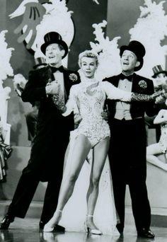 "Danny Kaye, Vera-Ellen & Bing Crosby in ""White Christmas"", 1954"