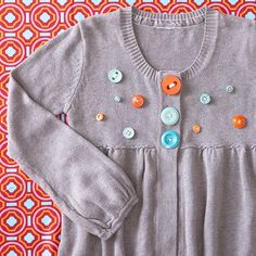 Buttoned-Up Sweater-Button Crafts For Kids. 14 Super Fun DIY Projects