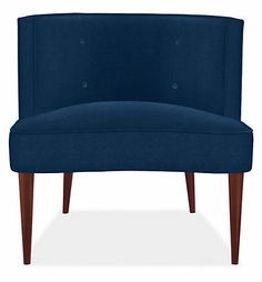 """Chloe"" Chair in Indigo Vance from Room & Board ©"