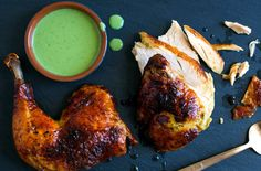 The zippy flavor of Green Goddess salad dressing works nicely with the mildness of chicken.