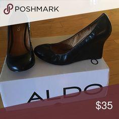 Wedges Black wedges ALDO Shoes Wedges