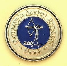 Compagnia arcieri #cumacini como - club in italy - #enamelled #archery pin badge,  View more on the LINK: http://www.zeppy.io/product/gb/2/371617269793/