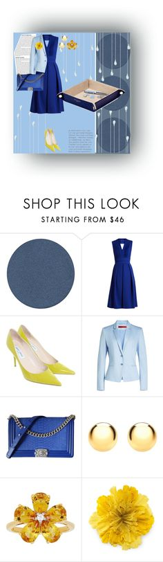 """""""Untitled #1574"""" by rhaxkido ❤ liked on Polyvore featuring Kjaer Weis, Preen, Jimmy Choo, HUGO, Chanel, IBB, David Tutera, Gucci and Aspinal of London"""