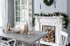 Inspiración: una casa en Toronto decorada para Navidad. Es un hogar muy acogedor con un toque muy natural. Nos gusta su estilo de inspiración escandinava con tonos neutros combinados con materiales naturales.
