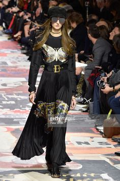 Jay Wright walks the runway during the Christian Dior show as part of the Paris Fashion Week Womenswear Fall/Winter 2018/2019 on February 27, 2018 in Paris, France.