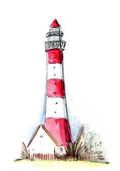 Illusion Drawings by Ramon Bruin. 3d Illusion Drawing, Lighthouse Clipart, Elsa Drawing, Sailboat Art, Beach Art, Watercolor Paintings, Watercolours, Cute Drawings, New Art