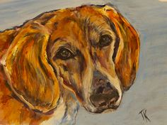 Copper, (Acrylic, 5 x Copper, Pets, Painting, Animals, Animals And Pets, Animales, Animaux, Painting Art, Paintings